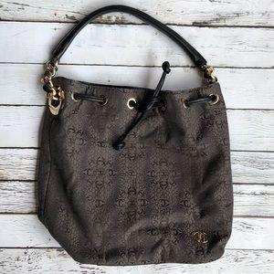 Just Cavalli Leather and Material handbag